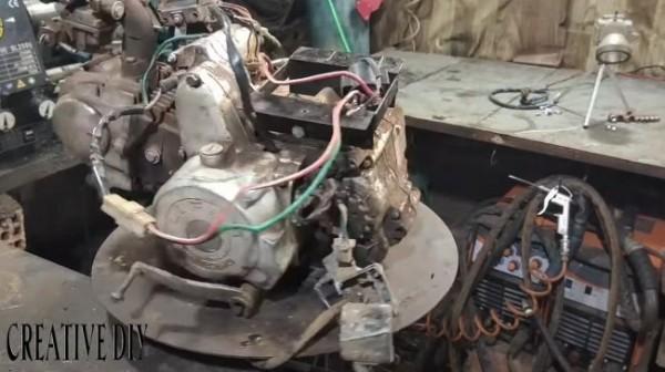 Мойка высокого давления на бензиновом моторе