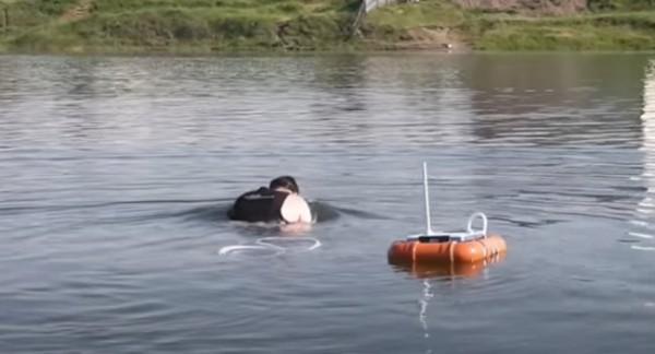 Приспособление для дыхания под водой